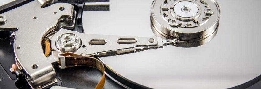 Contenu d'un disque dur